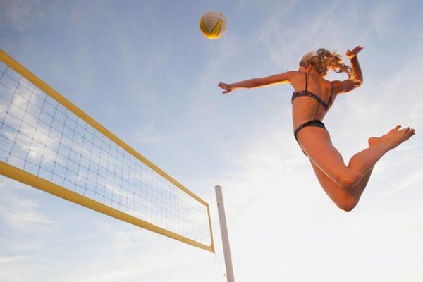Beach Volleyball Summer Sports