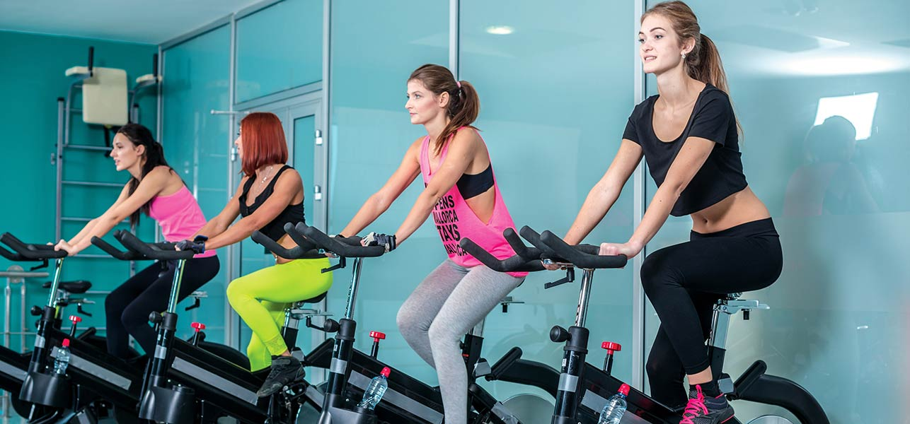spinning and benefits on the body residence domaso