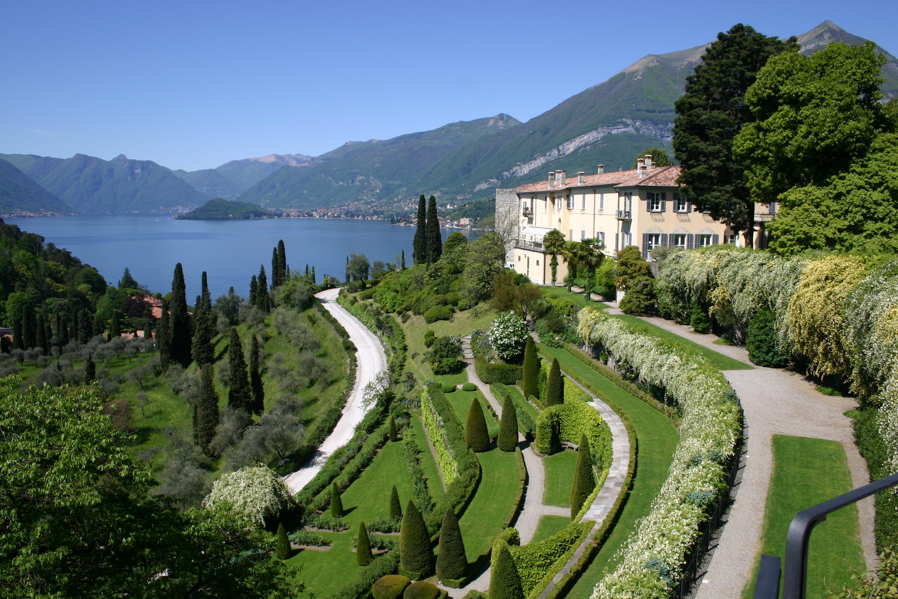 Villa serbelloni a bellagio sul lago di como residence for Lago villa del conte